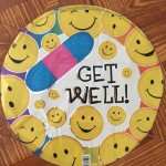 Smiley Face, Get Well Balloon