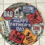 "Mylar ""Dad"" balloon"