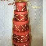 Golden Ribbons Gift Tower